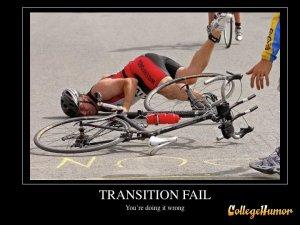 transition fail